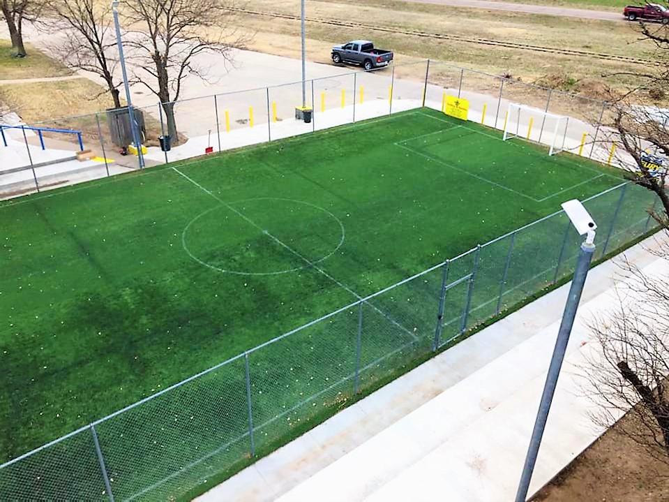 soccer field new