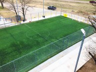 soccer field new